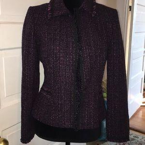 Tweed tahari skirt suit NWOT